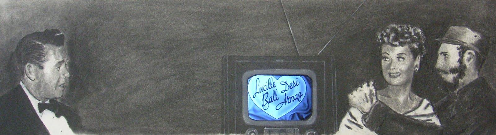 Lucy Ball, Desi Arnaz, Fidel Castro
